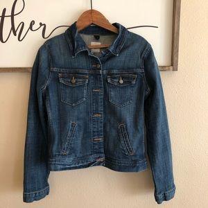 {J.Crew} Classic jean jacket
